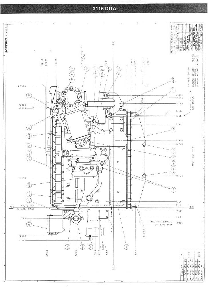 CAT 3116 Drawing 3 i need a wiring harness diagram for a caterpillar c10 engine cat 70 pin ecm wiring diagram at readyjetset.co