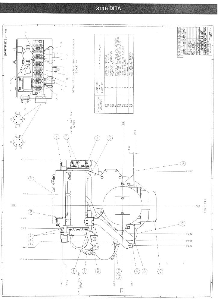 3306 Cat Engine Diagram besides 3126 Cat Thermostat likewise Cat Engine 3406e Fuel Base Diagram moreover Cat C15 Oil Sensor Location likewise Cat 3176 Engine Diagram Model. on cat 3176 wiring diagram
