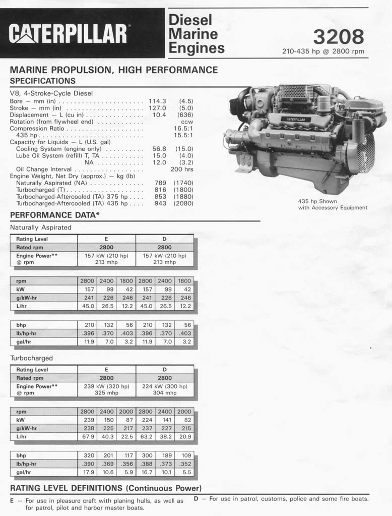 find the best diesel engine transmission and generator brochures now cat 3208 brochure 1 jpg
