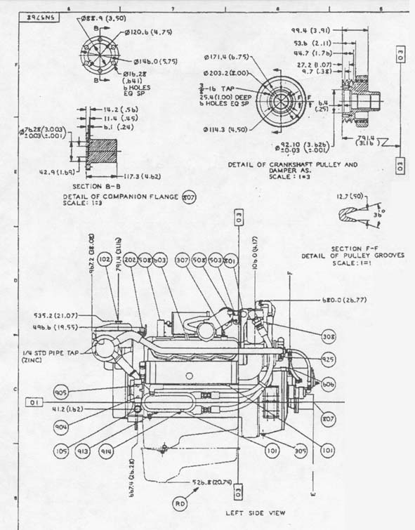 New Holland Lx565 Engine Diagram together with IHS804 Clutch Pedal Brake Return Spring further Allis Chalmers Gleaner L L2 L3  bine Belts in addition Wiring Diagram For John Deere 950 as well IHS3188Tie Rod Tube With Ball End. on allis chalmers engine specifications