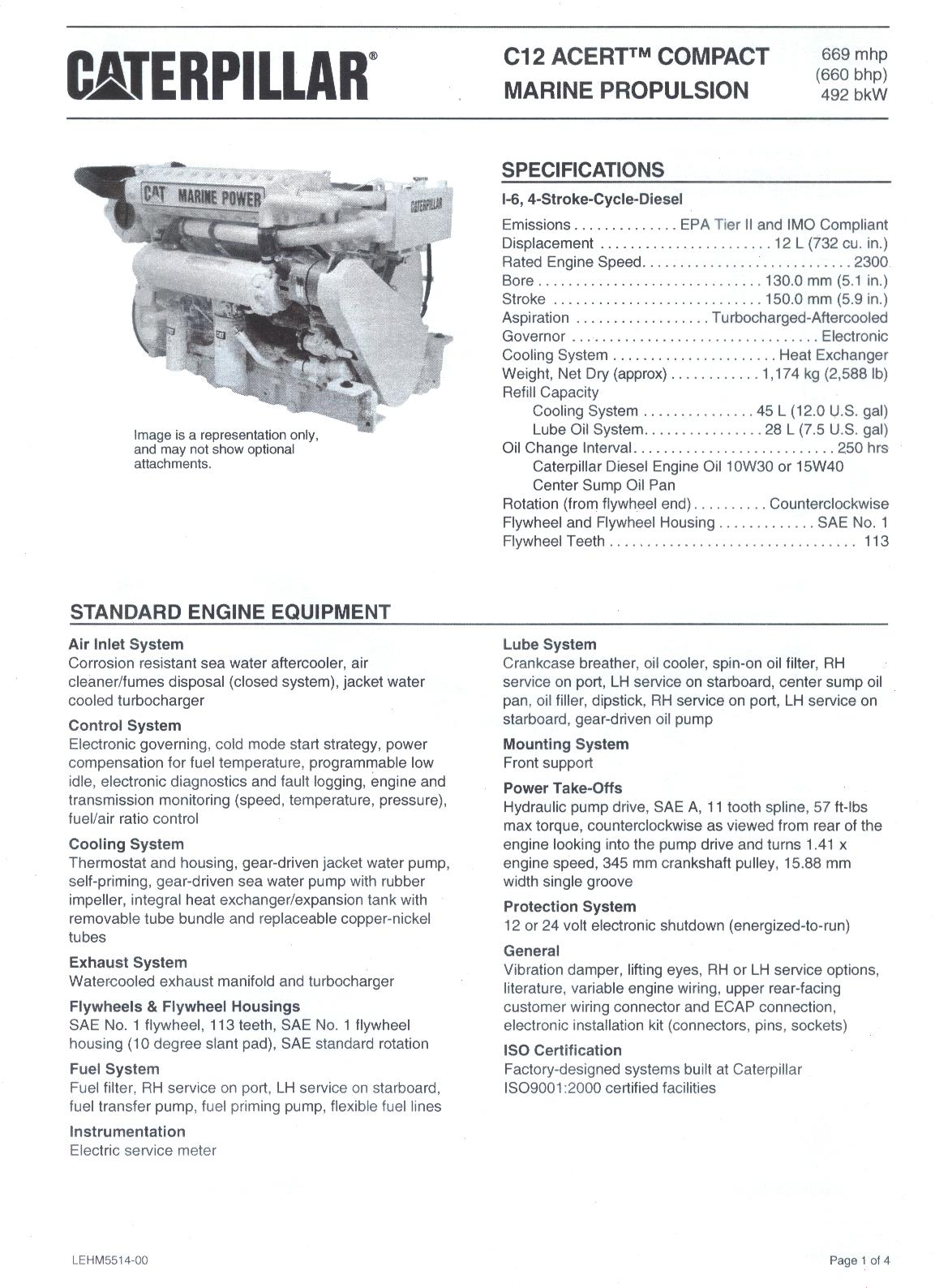 Caterpillar Starter Wiring Diagram Electrical Cat C12 Engine Specifications Bing Images 3208 24v Solenoid
