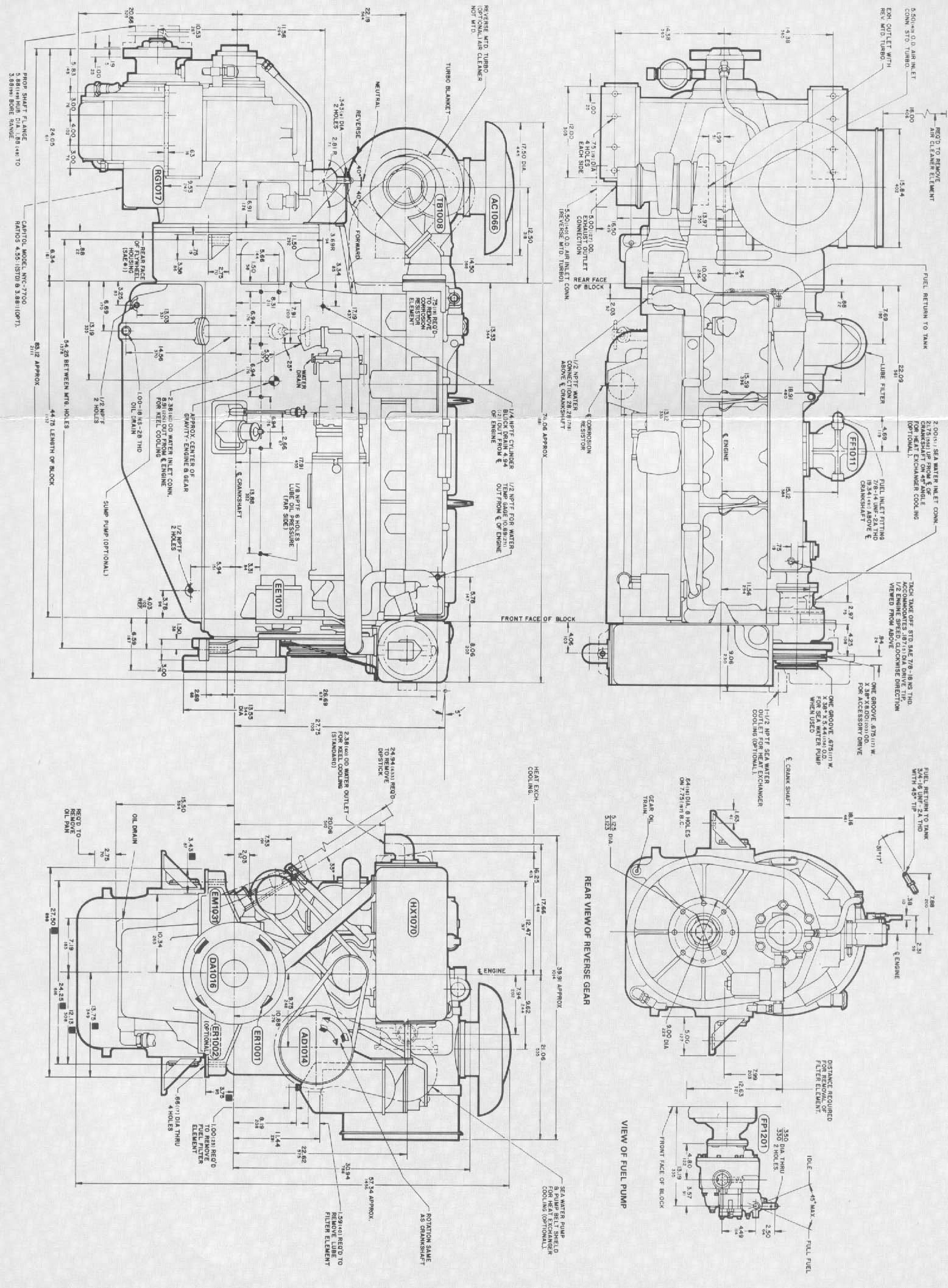 cummins alternator generator diagram
