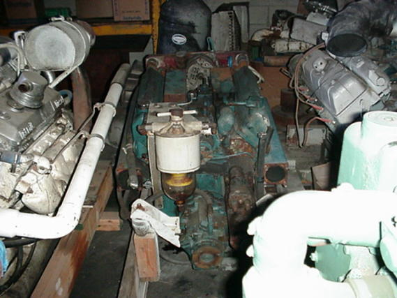 V470 USED MARINE ENGINE