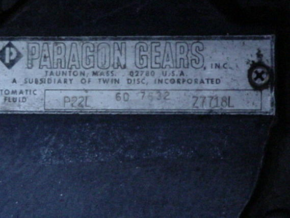 P22L USED MARINE GEAR