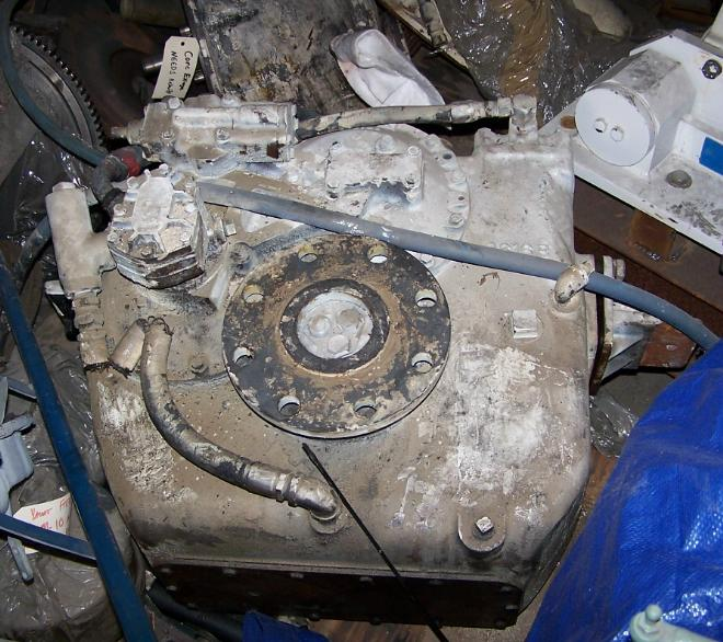 MG512 Used Marine Transmission