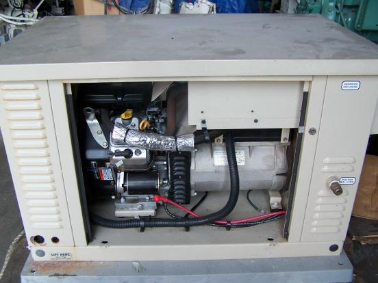 12 KW USED Propane or Natural Gas GEN SET