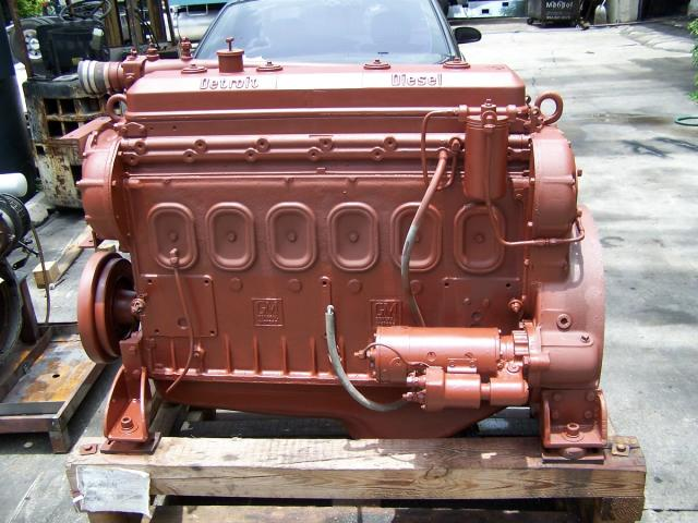 6-71N USED Marine Basic engine