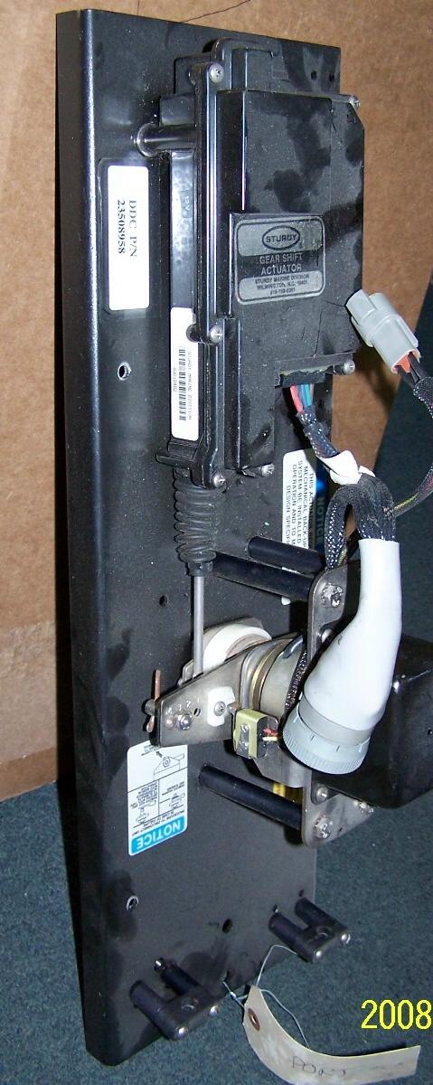 16v-92 DDEC Elect shift actuator