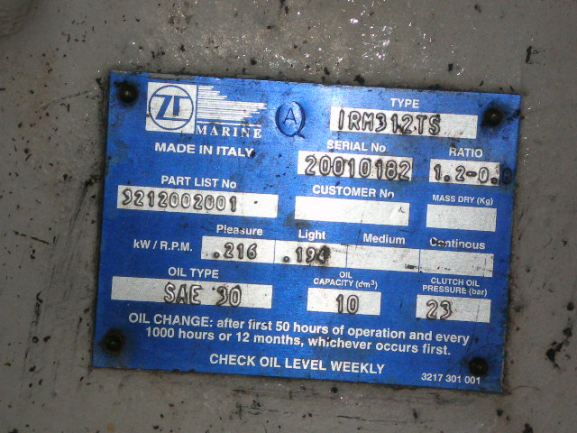 ZF312TS Low Hour Used