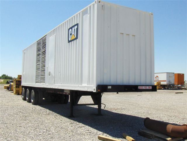 3512 Industrial Generator Set in Container
