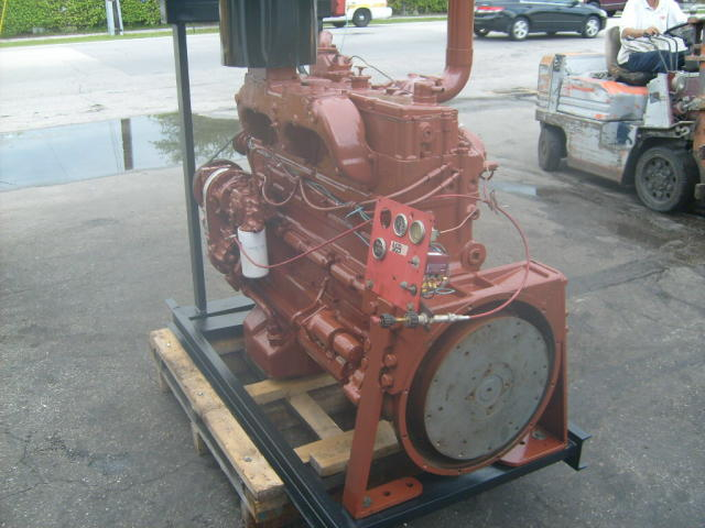 855N Cummins Industrial Engine