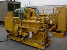CAT G3412EIS used Marine Gen set