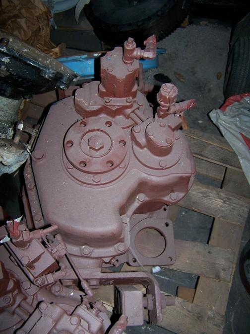 MG507 Used Marine Gear