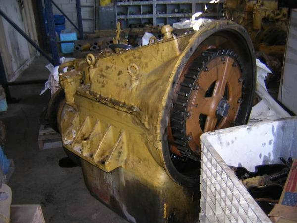 CAT 7261 Used marine transmission