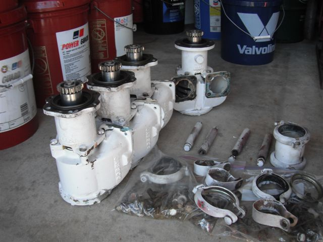 16v92 12v92 & 12v71 USED JABSCO RAW WATER PUMPS