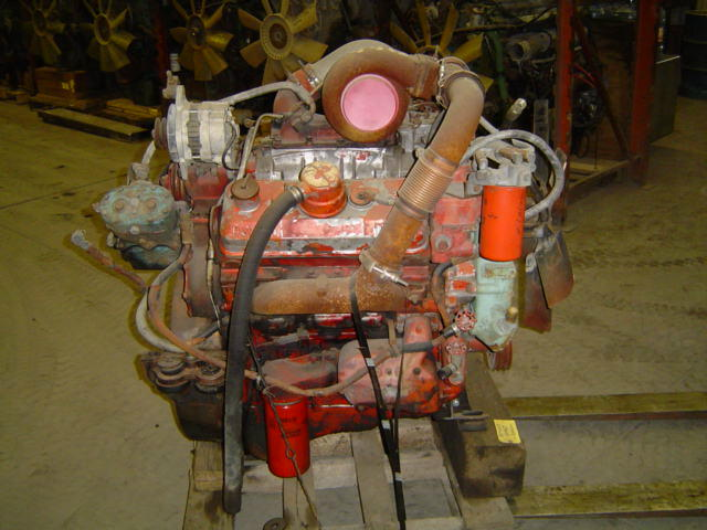 6v-92TA  Used Industrial Engine