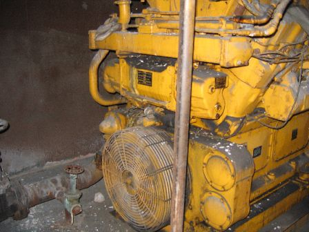 CAT D399 Used Industrial Generator set