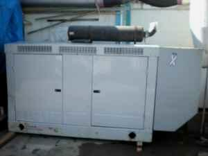 Detroit Diesel Nat. Gas Generator set