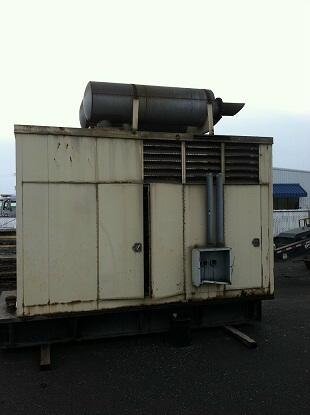 50r07071 USED INDUSTRIAL GENERATOR