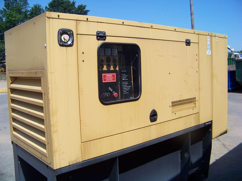 D100P1 Used Industrial Generator Set