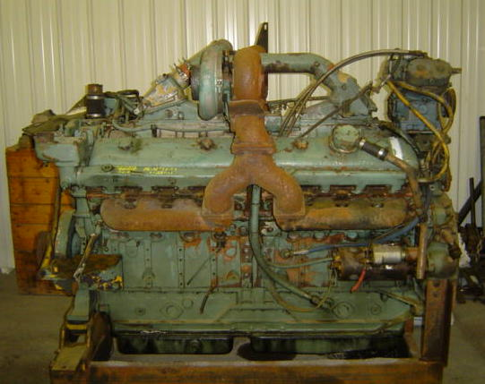 16v-71TT Used Industrial  engine