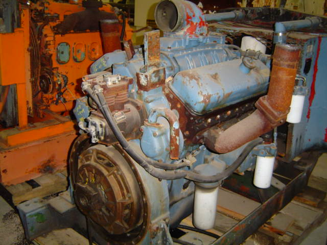 8V-71 Power Unit Engine