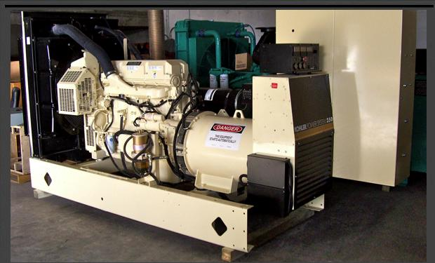 Cummins Series 60 Industrial Generator Set