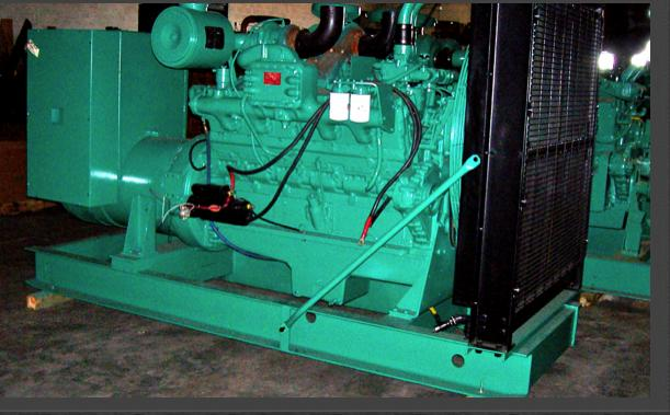 Model VT 1710 Industrial Generator Set
