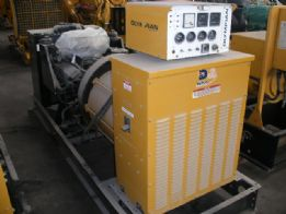 A4350 Nat Gas Industrial Generator set.