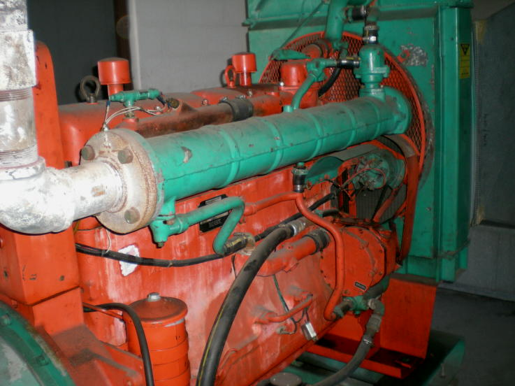 6 Cyl USED PROPANE INDUSTRIAL GENERATOR SET