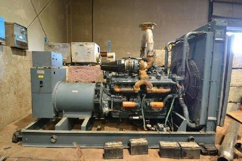 16V-92TA Used Industrial Generator Set