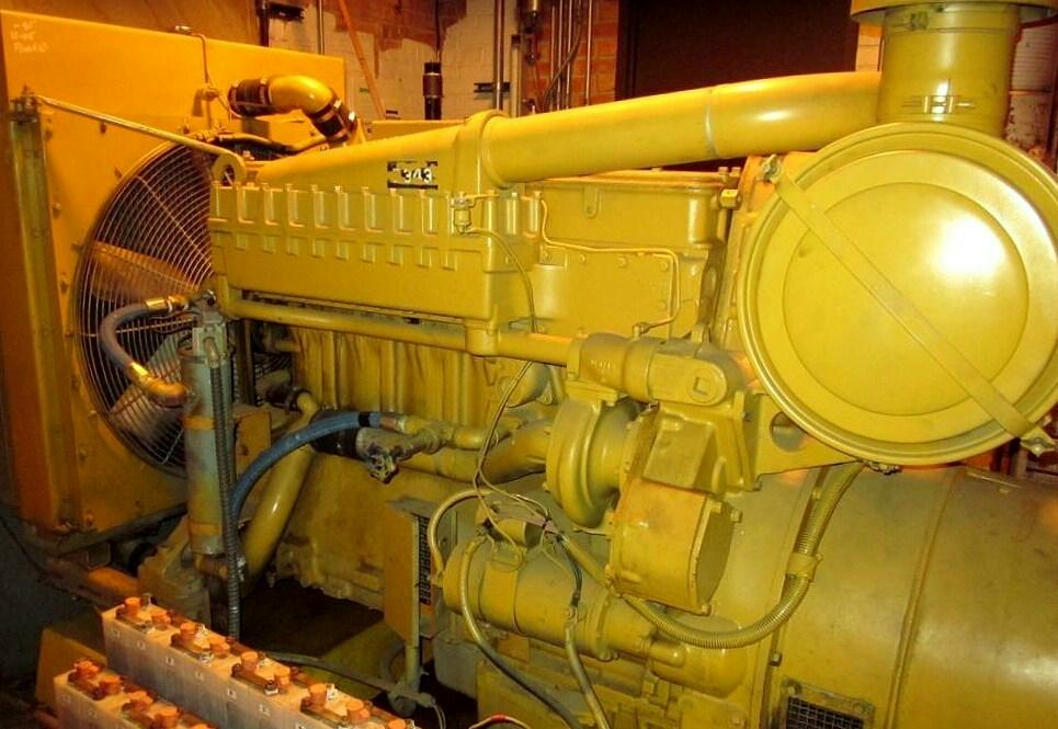 D353T Used Industrial Generator Set