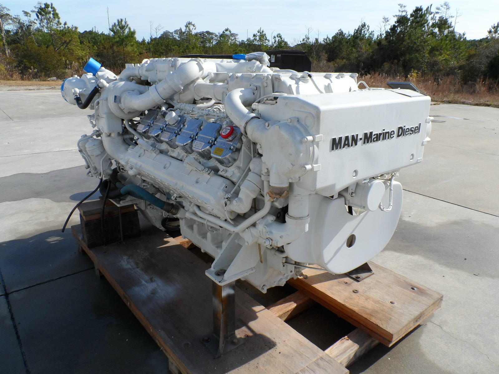 D2842LE433 used marine engines