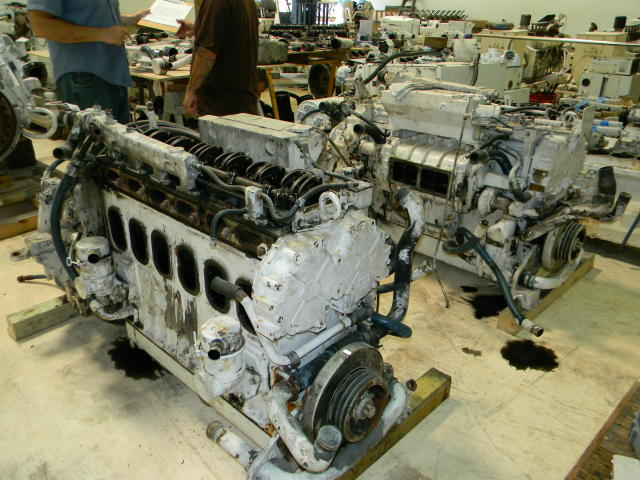 6-71TIB Used Marine Engine
