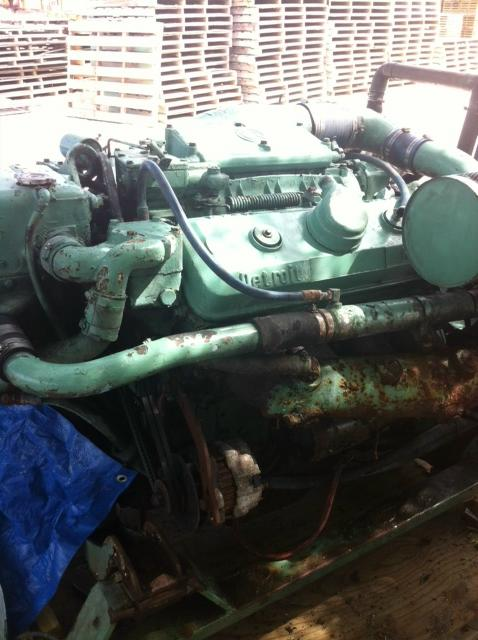 8V-92TI Used Marine Eng Core