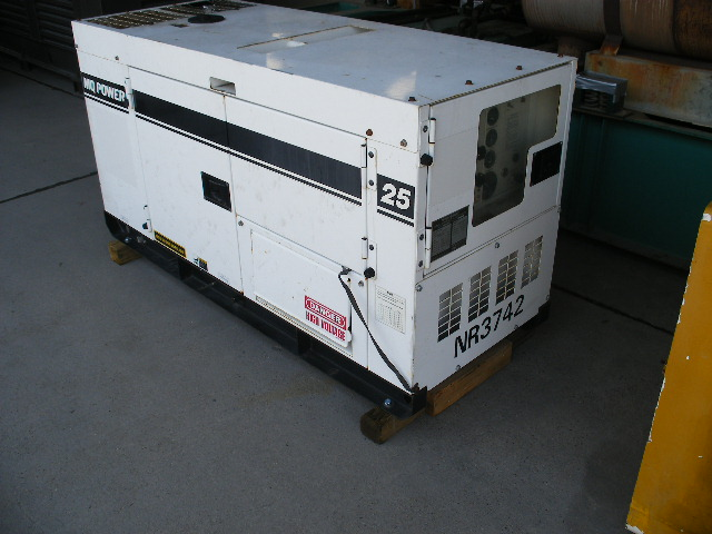 Izusu Good Used Generator Set.
