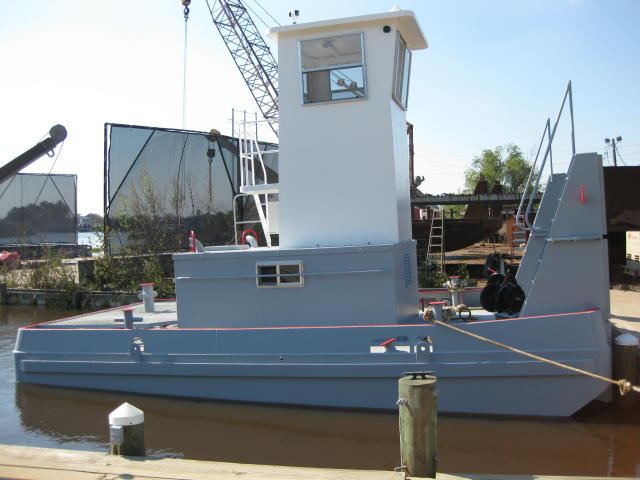 25' Truckable Push boat tugs for sale