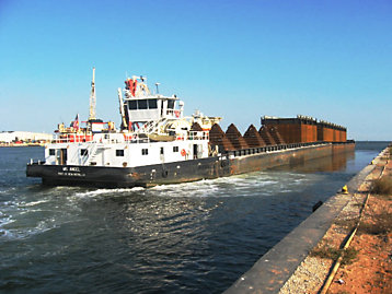 Inland Tug and  Barges For Sale