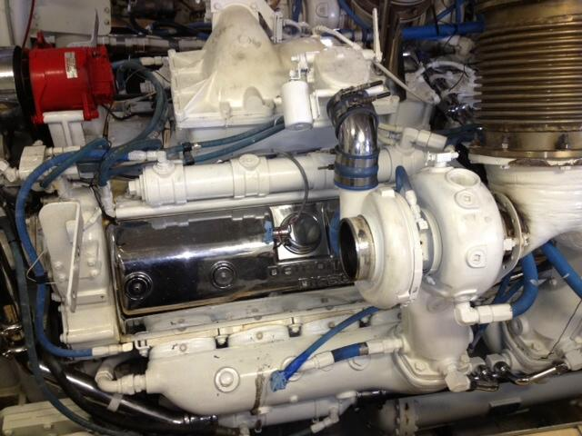 16V-149T DDEC Used Marine Engine