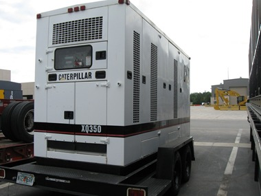XQ350  Industrial genset in Container
