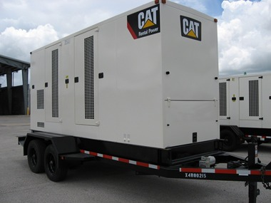XQ400  Industrial genset in Container