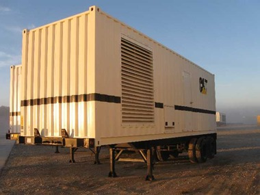 3412 Industrial genset in Container