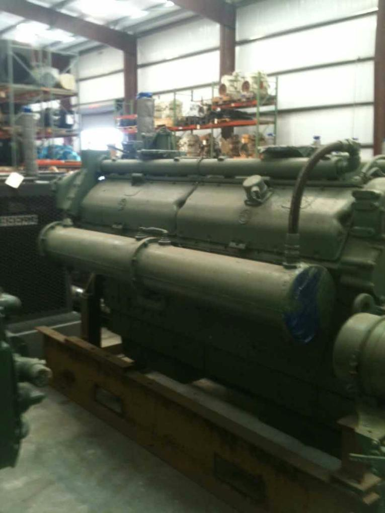 16V-149NA Rebuilt Marine Propulsion Engine