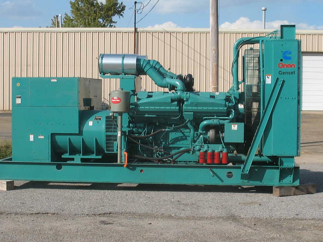 KTA38-G4 Used Industrial Generator Set