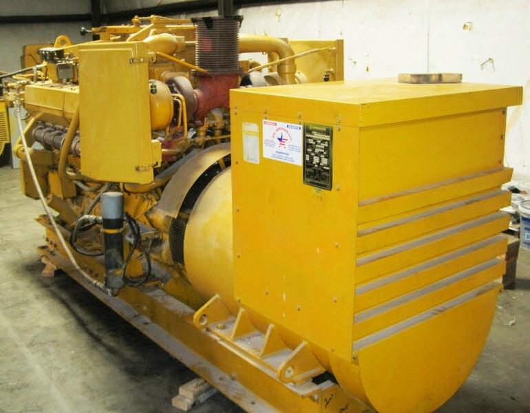 D349PC Used Marine Generator set
