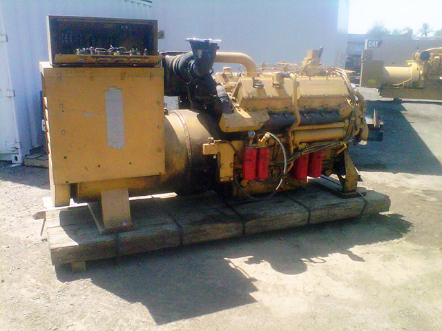 3412T  Industrial Generator set