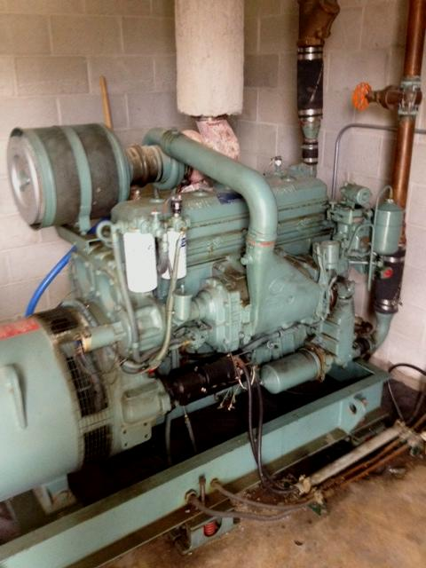6-71T Used Industrial generator