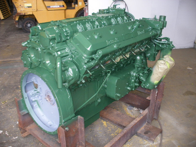 Detroit Diesel 12v 71n Used Marine Engine