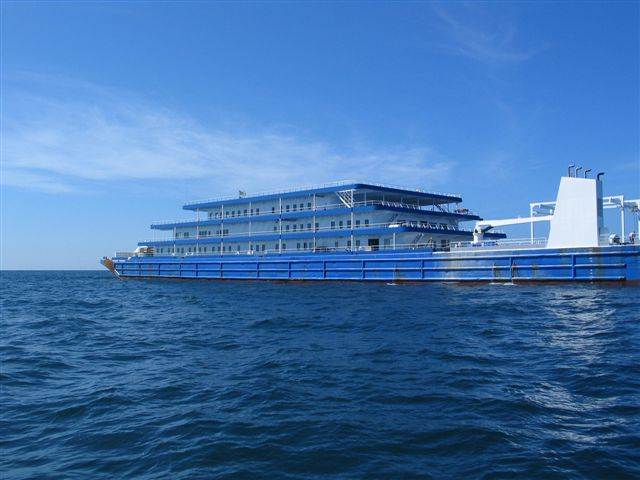 370' Accommodation Barge  For Sale -
