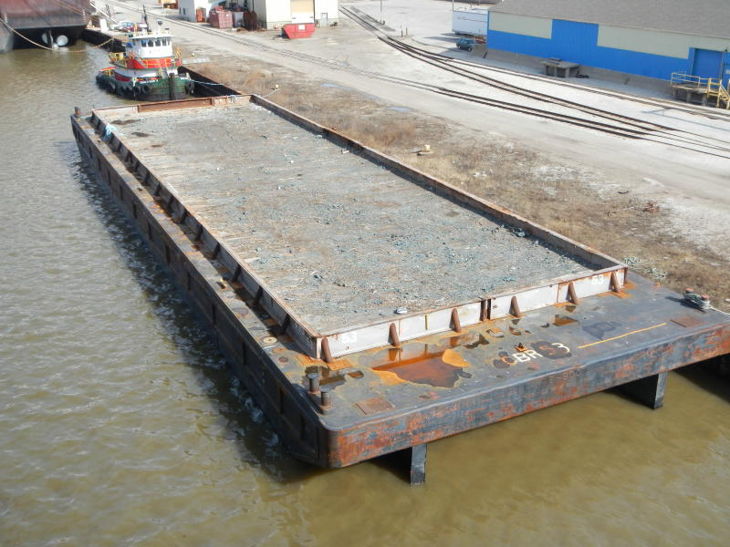 Ocean classed ABS barges for sale